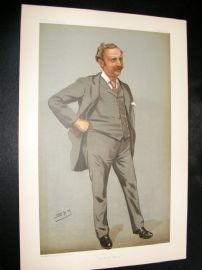 Vanity Fair Print 1899 Edgar Tyas Cook